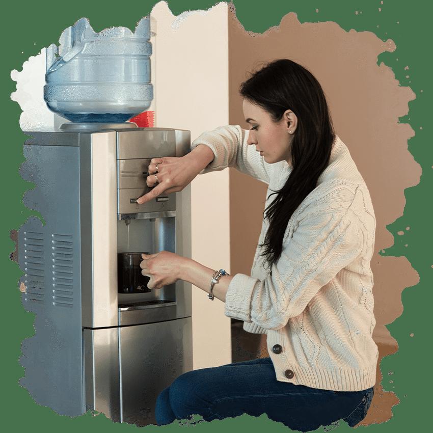 Правильный уход за бутылем воды